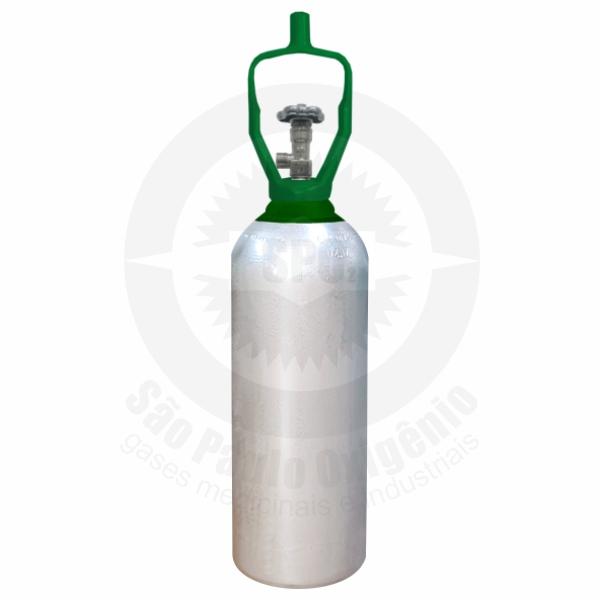 Cilindro de aço de 07 litros ou 4,0 Kg para CO2 Medicinal