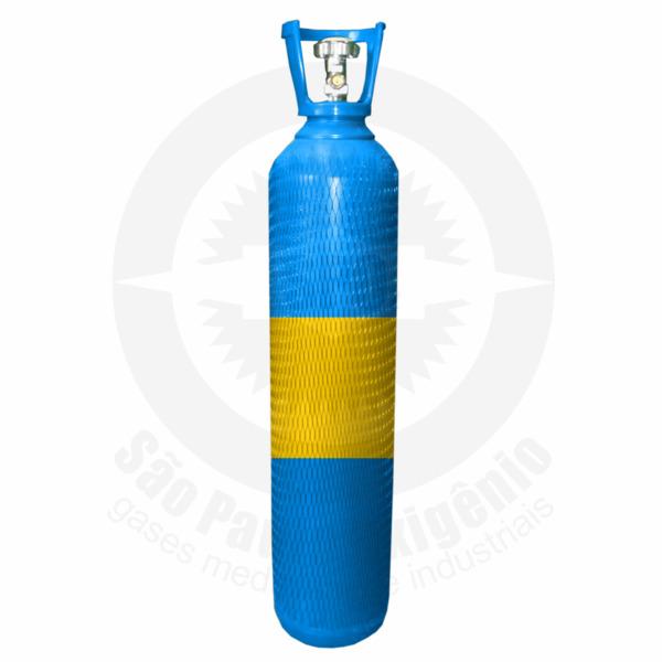 Cilindro de aço de 15 litros para ar comprimido