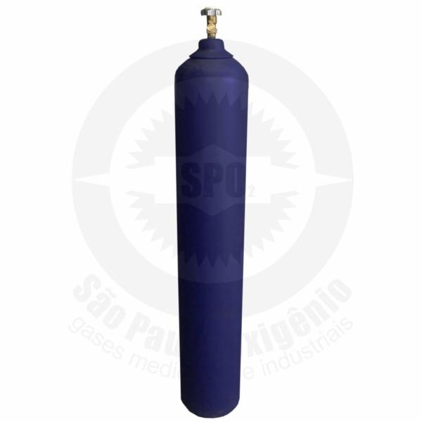 Cilindro de aço para 28 Kg de óxido nitroso