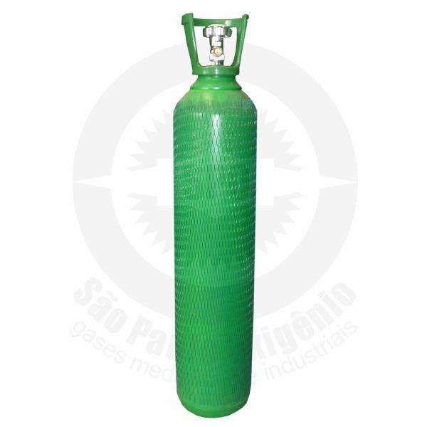 Cilindro de aço de 15 litros para oxigênio medicinal