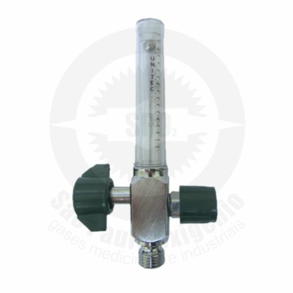 Fluxômetro 0-15 lpm para oxigênio medicinal