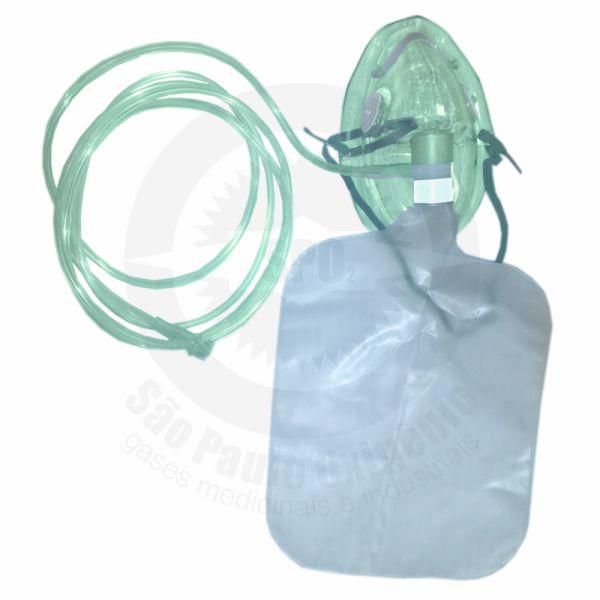 Máscara de não reinalação com reservatório - Infantil