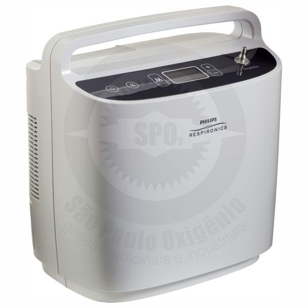 Locação do concentrador de oxigênio portátil - SimplyGo Philips