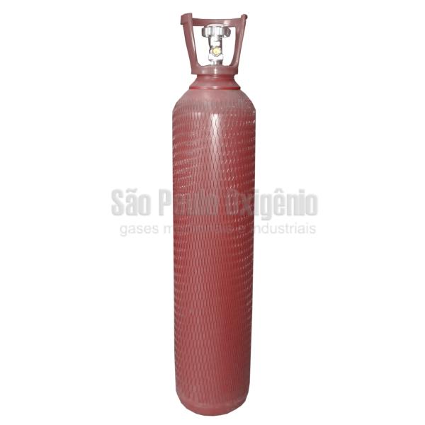 Cilindro de aço de 15 litros para argônio