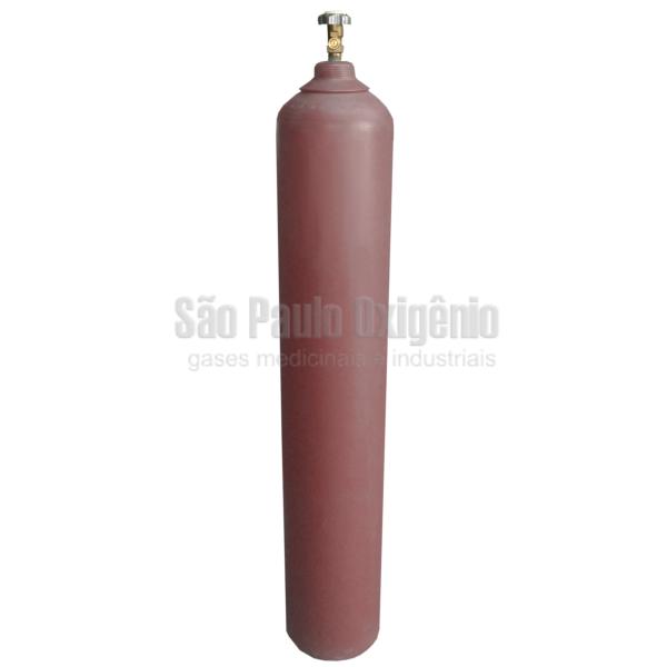 Cilindro de aço de 40 litros para argônio