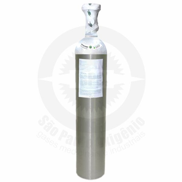 Recarga de CO2 medicinal de 2 Kg para cilindro de alumínio