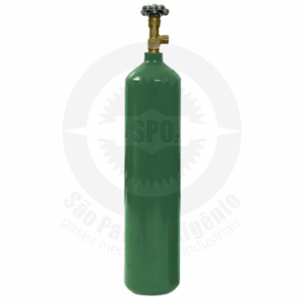 Cilindro de aço para oxigênio medicinal 05L