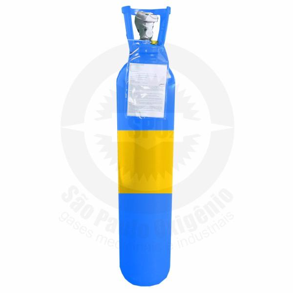 Recarga de 15 litros (2 m³) de ar comprimido para cilindro de aço