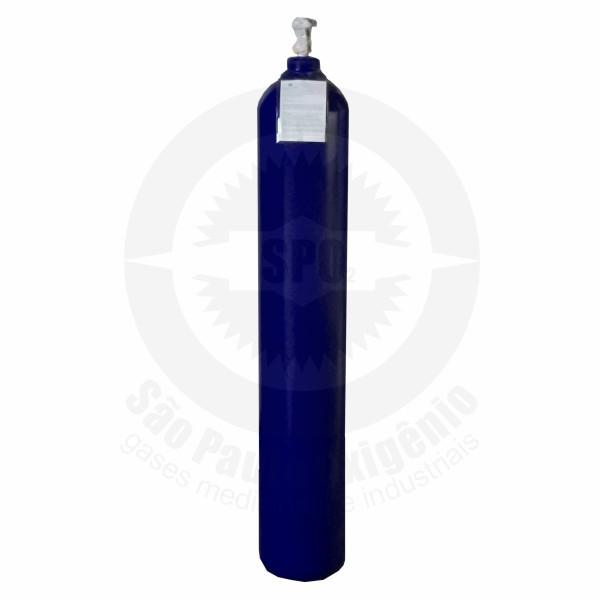 Recarga de 28 Kg de óxido nitroso para cilindro de aço