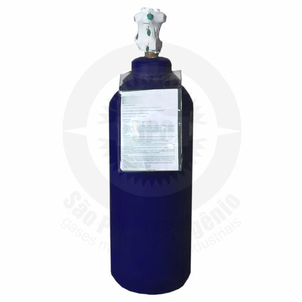 Recarga de 4,0 Kg de óxido nitroso para cilindro de aço