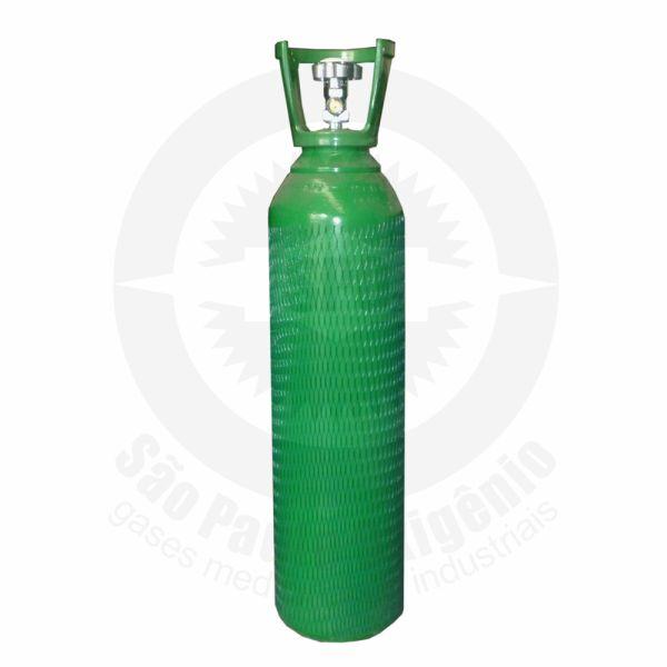 Cilindro de aço de 10 litros para oxigênio medicinal