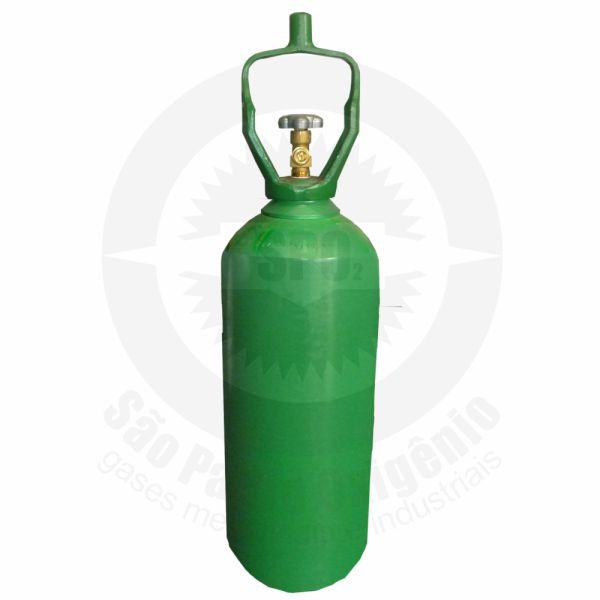 Cilindro de aço de 20 litros para oxigênio medicinal