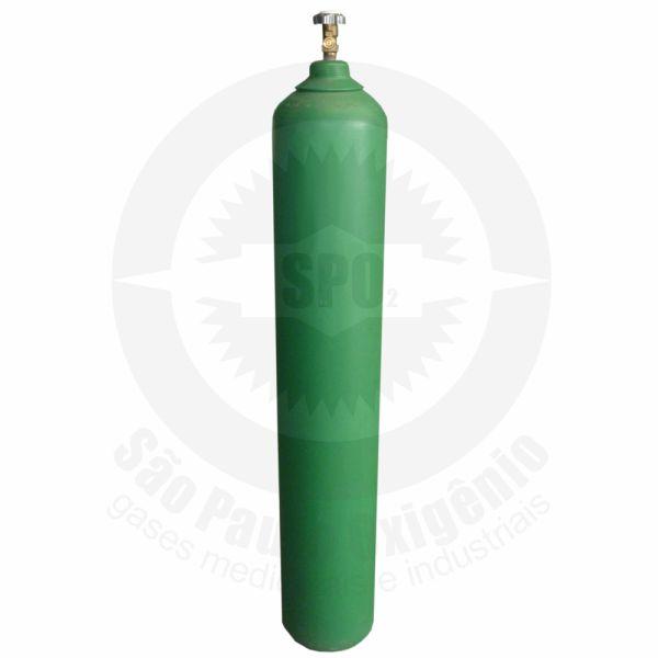 Cilindro de aço de 40 litros para oxigênio medicinal