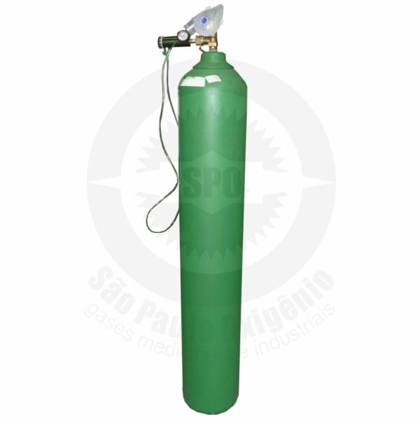 Locação de oxigênio medicinal 40L/6m³ (Valor mensal*)