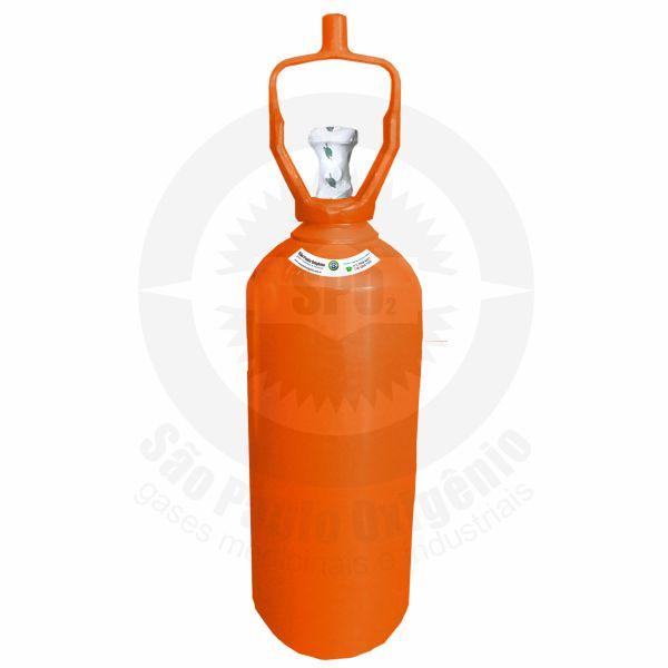 Cilindro de aço de 20 litros para gás hélio
