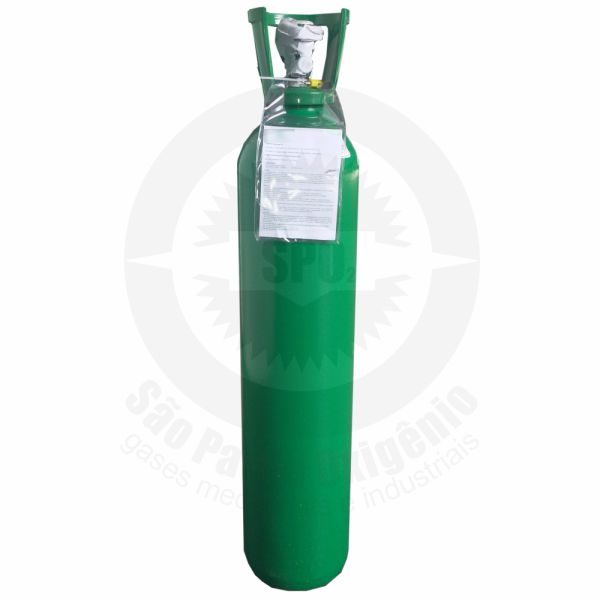 Recarga de oxigênio medicinal 15L (2m³) para cilindro de aço