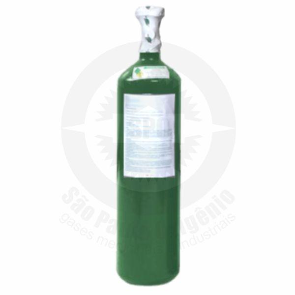 Recarga de oxigênio medicinal 03L (0,5m³) para cilindro de aço