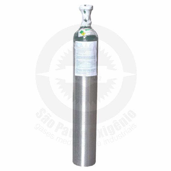 Recarga de oxigênio medicinal 05L (0,7m³) para cilindro de alumínio