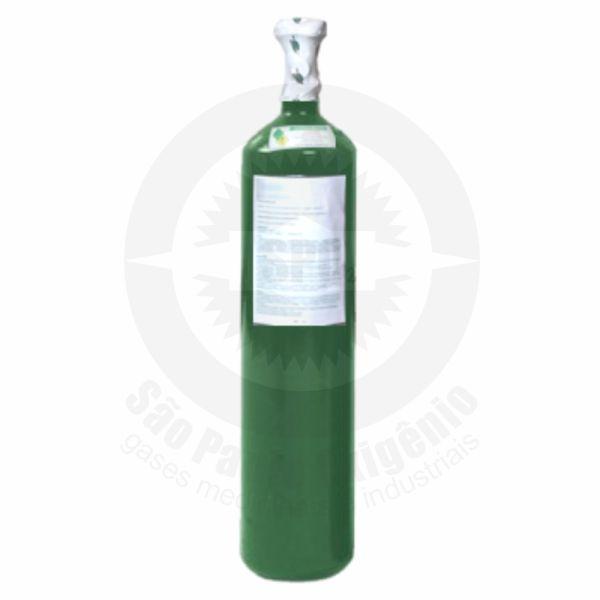 Recarga de oxigênio medicinal 05L (0,7m³) para cilindro de aço