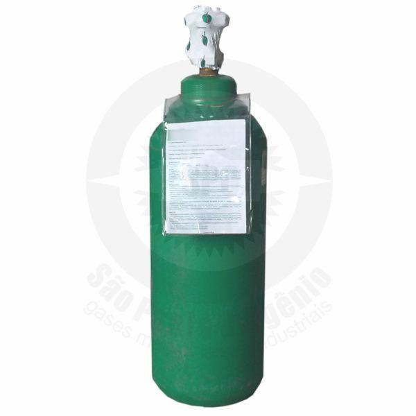 Recarga de oxigênio medicinal 07L (1m³) para cilindro de aço