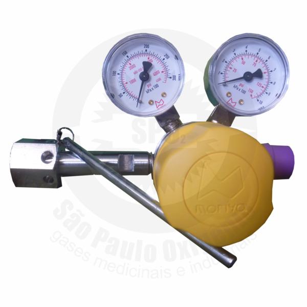 Regulador de Pressão Ajustável para Ar Comprimido
