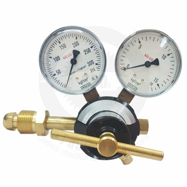 Regulador de pressão para nitrogênio industrial
