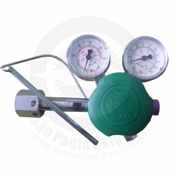 Regulador de Pressão Ajustável para Oxigênio Medicinal