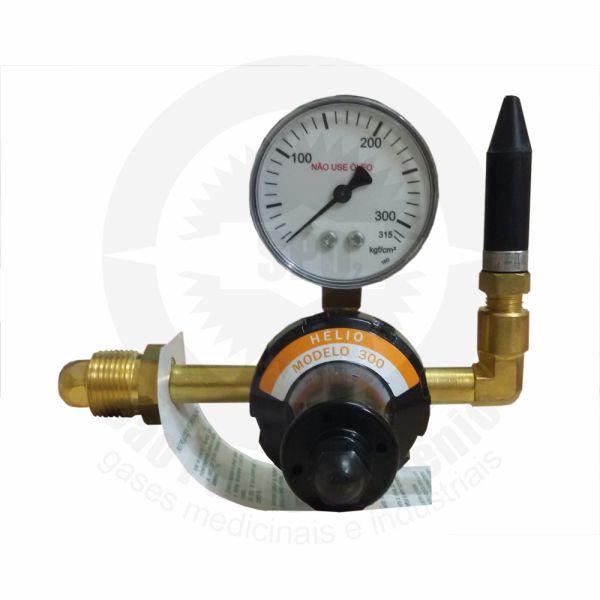 Regulador de Pressão para Gás Hélio c/ 01 saída