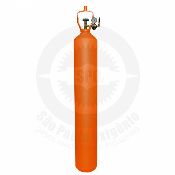 Locação de gás hélio 50L (10m³) para +/- 1300 balões de 09 polegadas