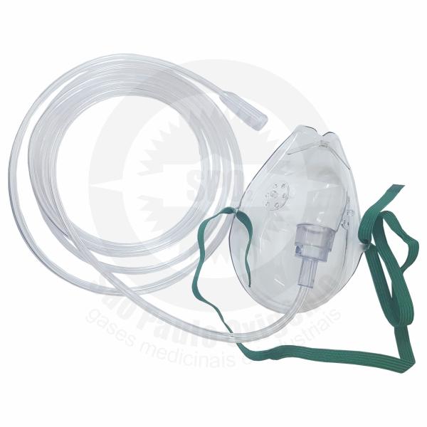 Máscara de média concentração para oxigênio (adulto)
