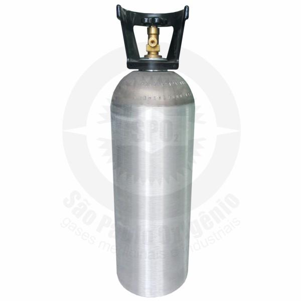 Cilindro de aço de 09 Kg para CO2 industrial