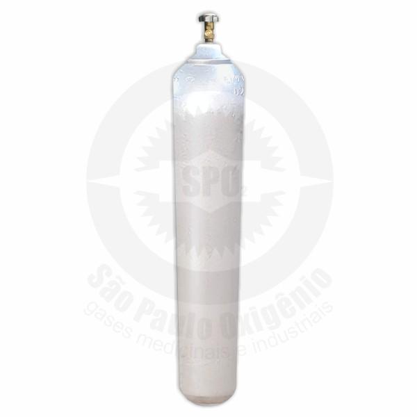 Cilindro de aço de 40 litros (25 Kg) para CO2 industrial
