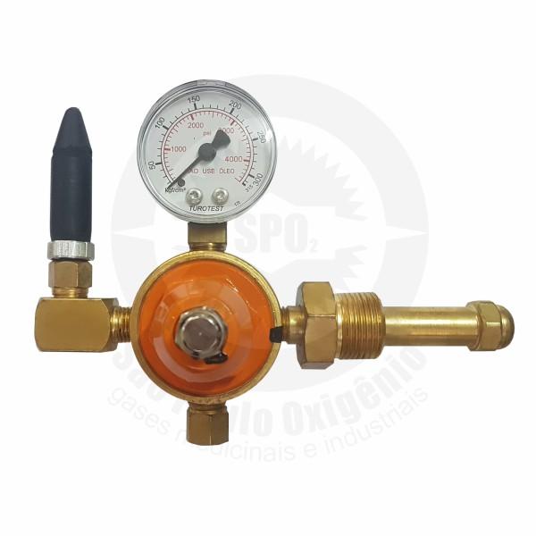 Regulador de Pressão para Gás Hélio c/ 01 saída (Mod. 02)
