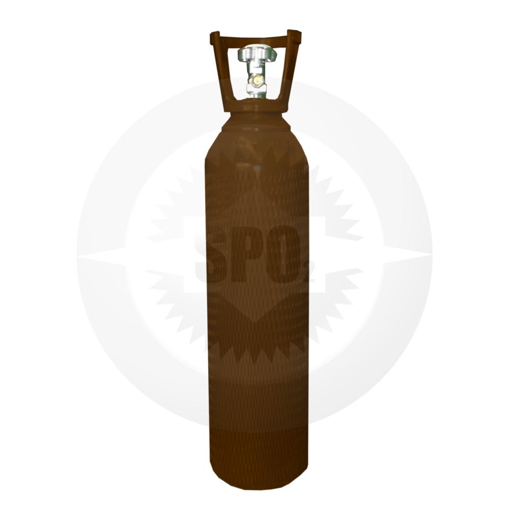 Cilindro de aço de 10 litros para Argônio