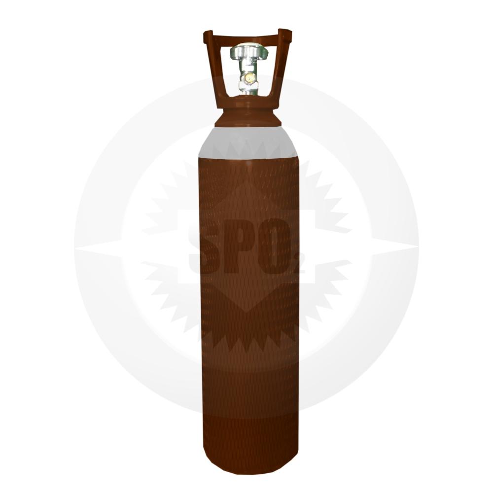 Cilindro de aço de 10 litros para Mistura