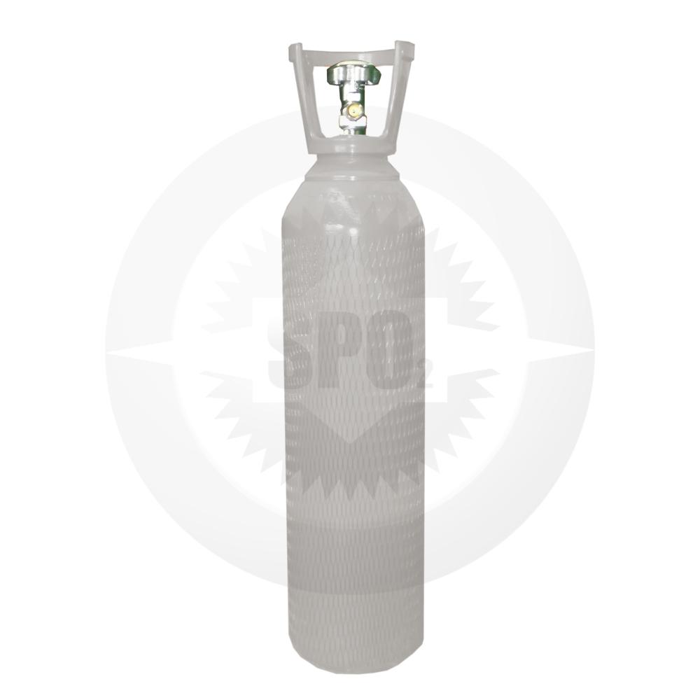 Cilindro de aço de 10 litros para Nitrogênio