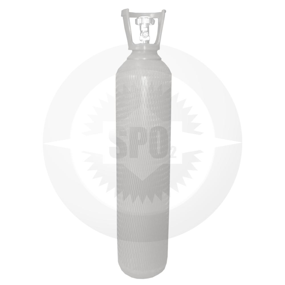 Cilindro de aço de 15 litros para Nitrogênio