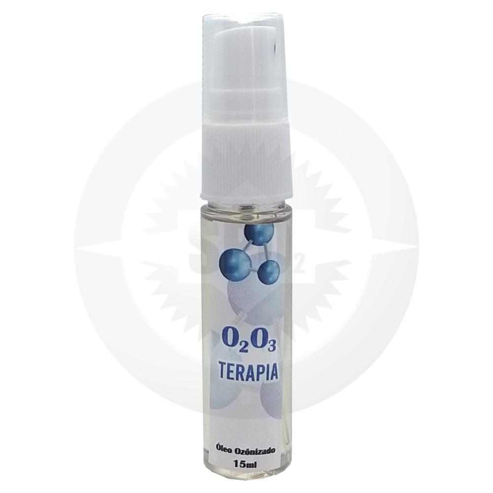Óleo de girassol ozonizado – 15 ml
